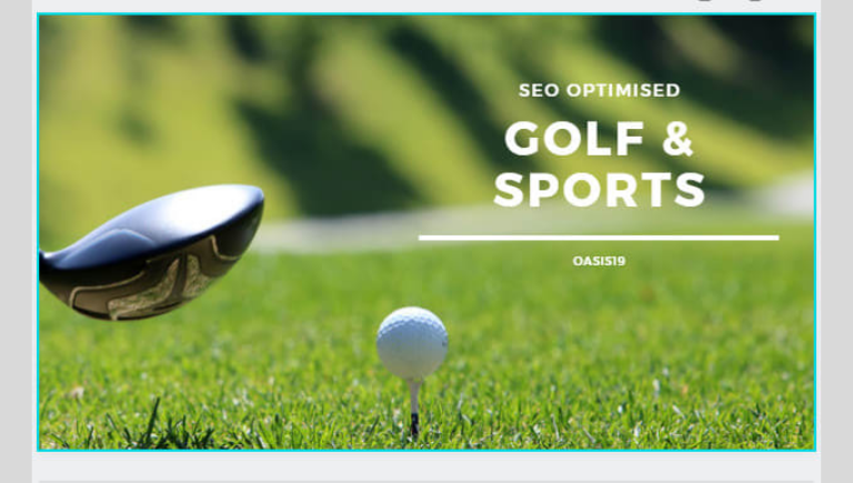 How to write an article on golf